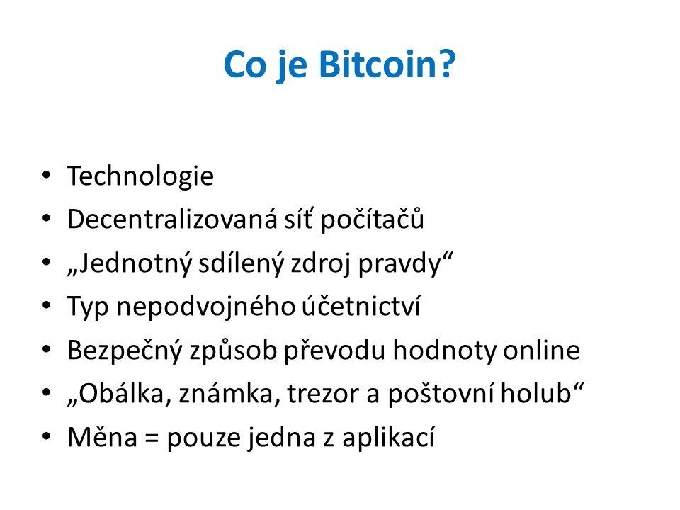 Co je Bitcoin.
