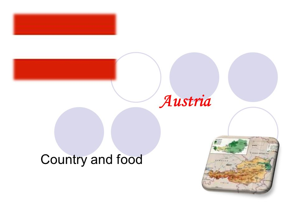 Austria Country and food