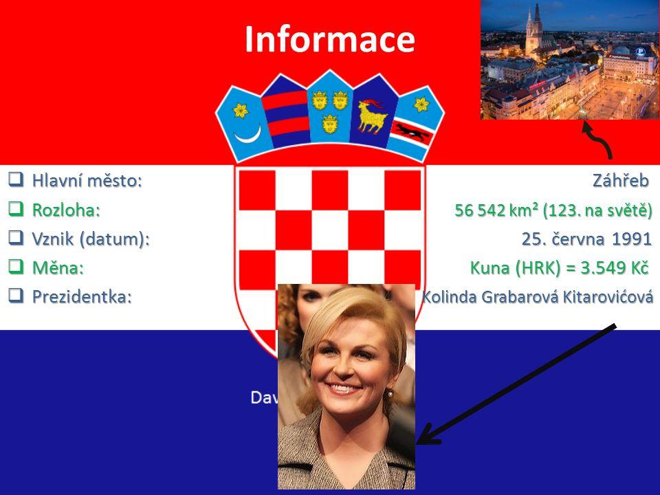 ChorvatskoZemě s českým mořem Ostrov Dugi Otok