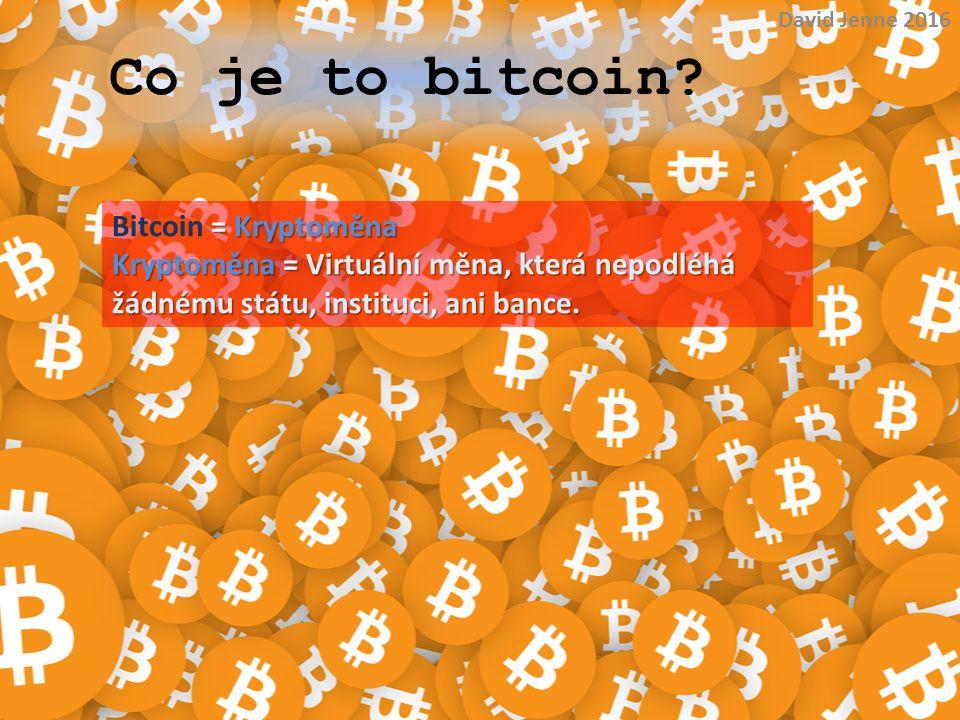 Pozor.Bitcoin sice nepodléhá nikomu, ale podléhá inflaci.