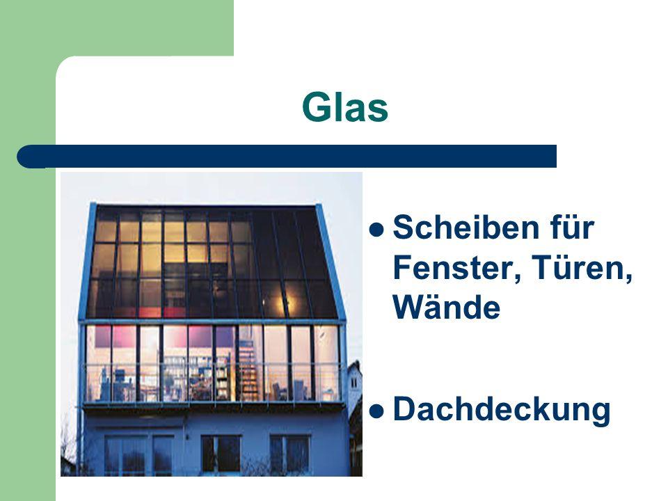 Glas Scheiben für Fenster, Türen, Wände Dachdeckung