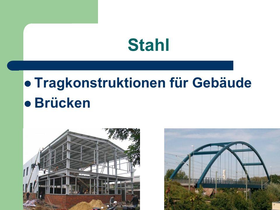 Stahl Tragkonstruktionen für Gebäude Brücken