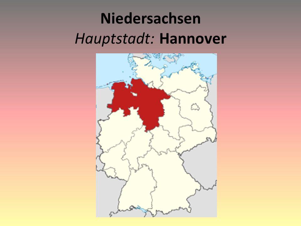 Niedersachsen Hauptstadt: Hannover