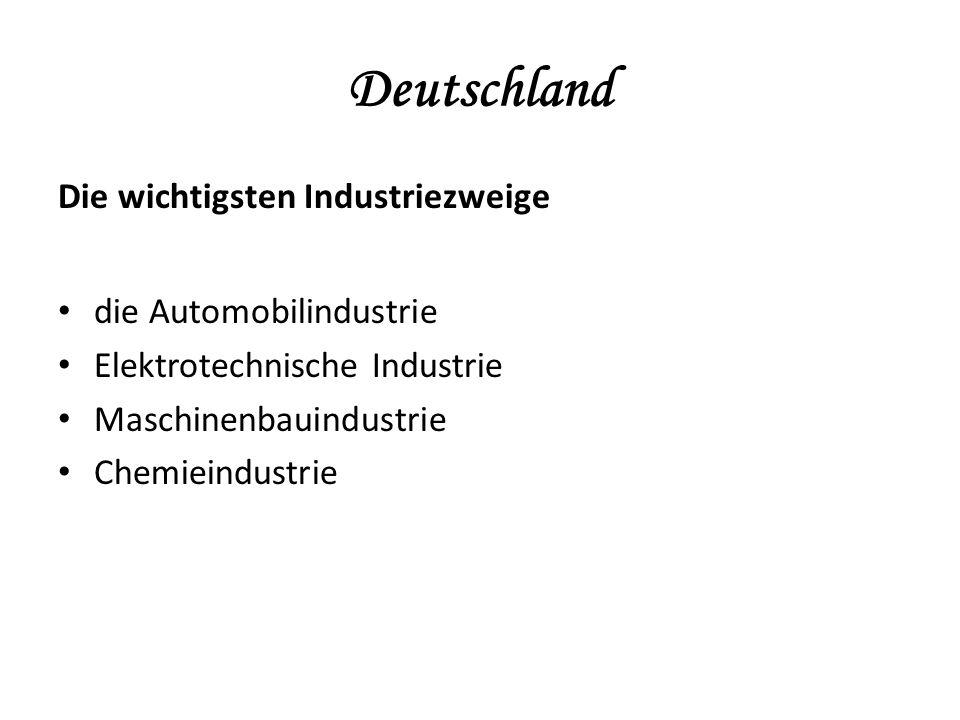 Deutschland Welche Automarken werden in Deutschland produziert?