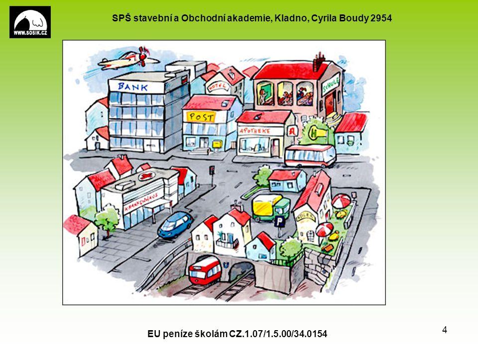 SPŠ stavební a Obchodní akademie, Kladno, Cyrila Boudy 2954 EU peníze školám CZ.1.07/1.5.00/34.0154 4