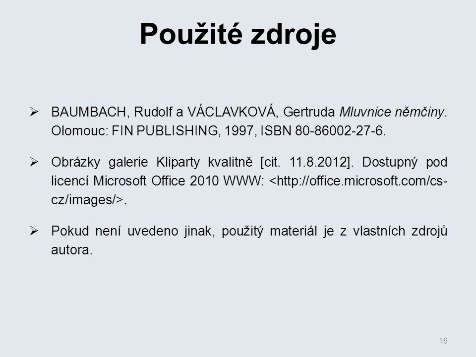  BAUMBACH, Rudolf a VÁCLAVKOVÁ, Gertruda Mluvnice němčiny.