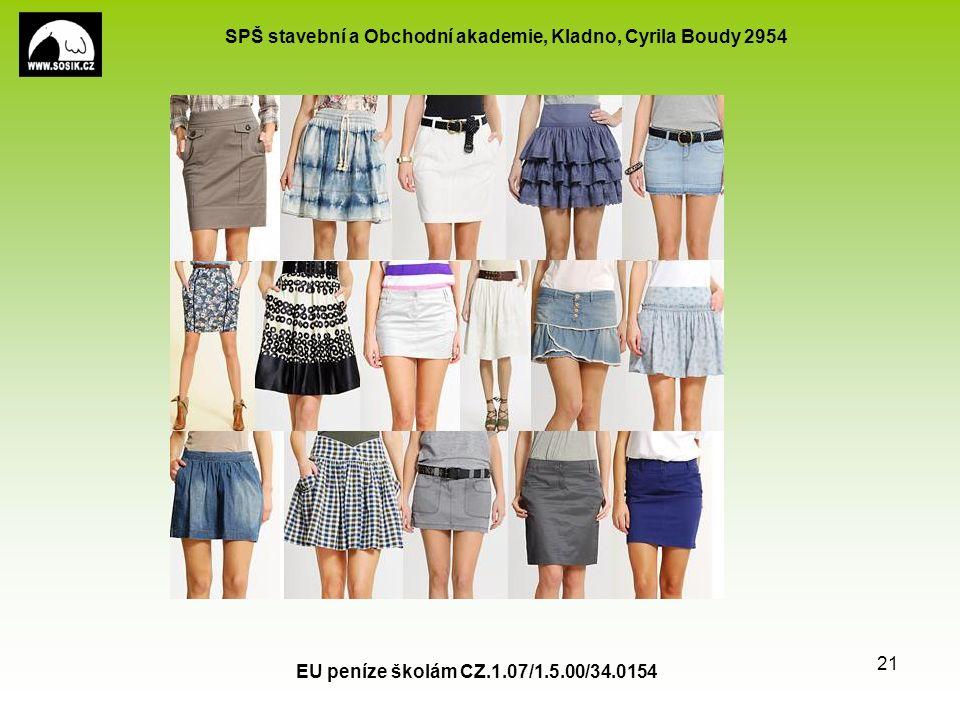 SPŠ stavební a Obchodní akademie, Kladno, Cyrila Boudy 2954 EU peníze školám CZ.1.07/1.5.00/34.0154 21