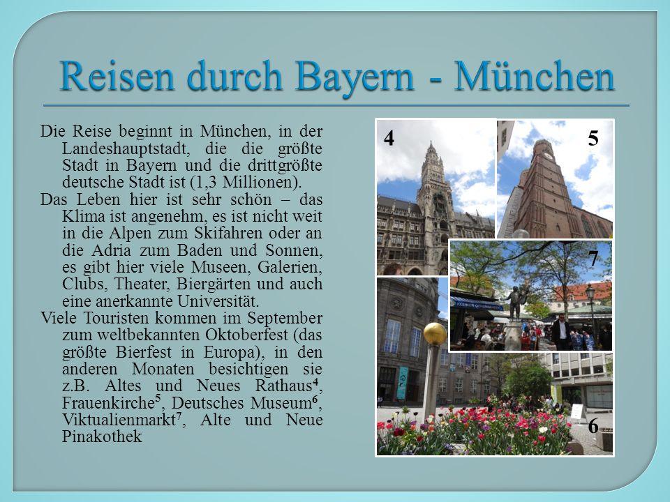 Am nächsten Tag fahren wir nach Nürnberg 8.