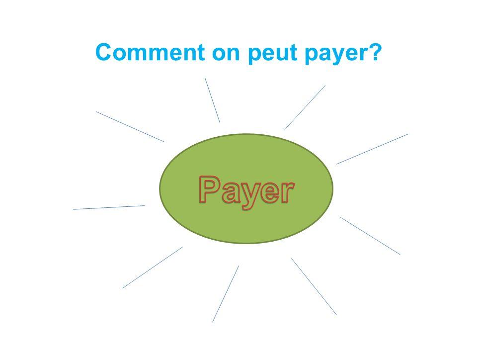 Payer En espèces Un billet de 20 € Une pièce de 1 € Avoir la monnaie Rendre la monnaie Par chèque Par carte bancaire Taper le code