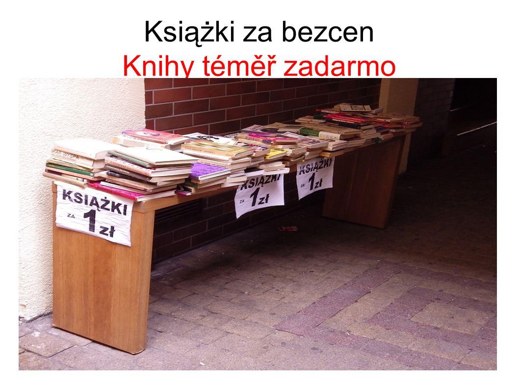 Książki za bezcen Knihy téměř zadarmo