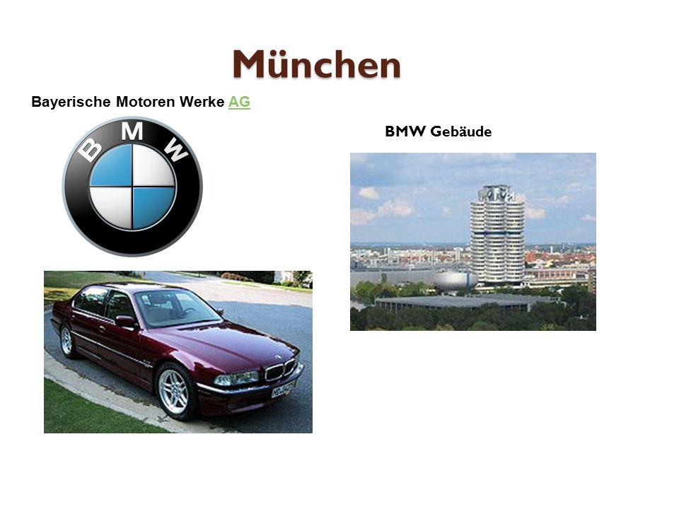 München BMW Gebäude Bayerische Motoren Werke AGAG