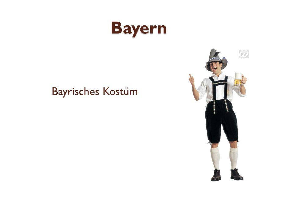 Bayern Bayrisches Kostüm