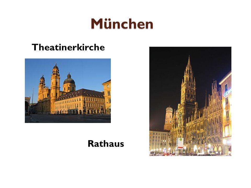 München Theatinerkirche Rathaus