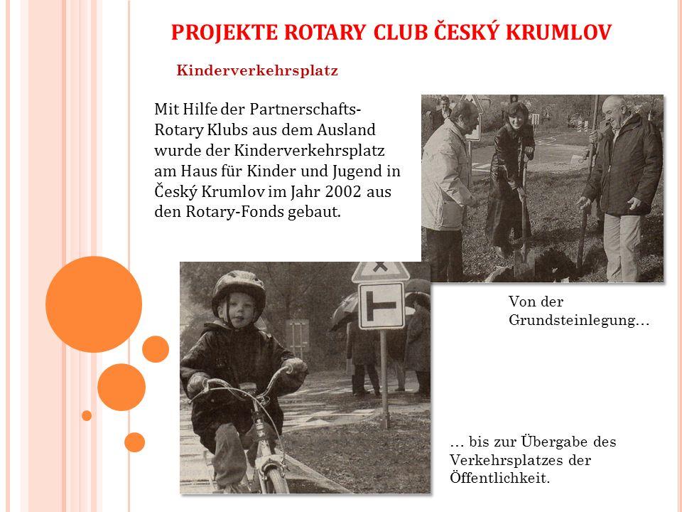 Kinderverkehrsplatz Von der Grundsteinlegung… … bis zur Übergabe des Verkehrsplatzes der Öffentlichkeit.