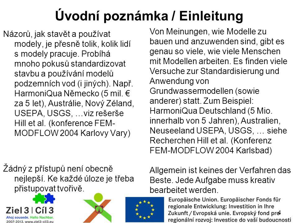 Rezidua (toky) Rückstände (Strömung) Vážená rezidua (toky) Gewichtete Rückstände (Strömung) Směrnice 9 / Vorschrift 9 Grafická analýza shody modelu s měřeními Graphische Analyse der Übereinstimmung des Modells mit den Messungen mapy / Karten 45 Zdroj/ Quelle: http://wwwbrr.cr.usgs.gov//hill _tiedeman_book/ Vážená rezidua (hladiny) Gewichtete Rückstände (Pegel)