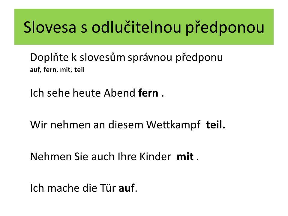 Použitá literatura DUSILOVÁ, Doris a kol.Sprechen Sie Deutsch?.