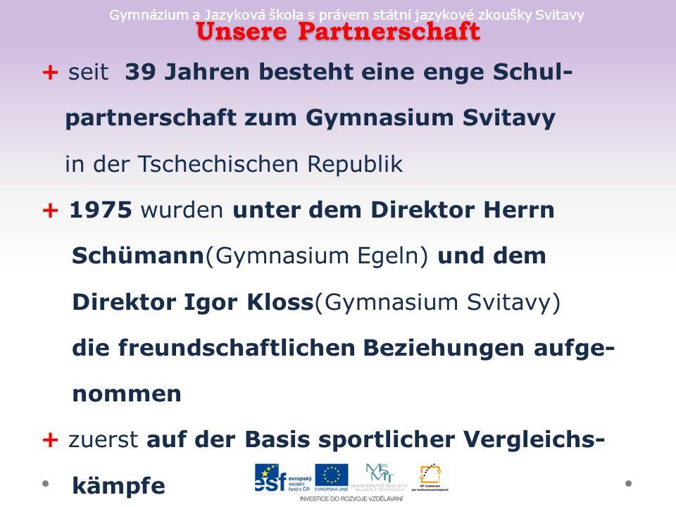 Gymnázium a Jazyková škola s právem státní jazykové zkoušky Svitavy Lösung Ottostadt Magdeburg Elbauenpark Otto von Quericke Grüne Zitadelle Kanalbrücke Museum für Vor- u.