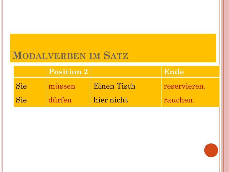 """5.Doplňte tvary sloves """" müssen nebo """"dürfen ."""