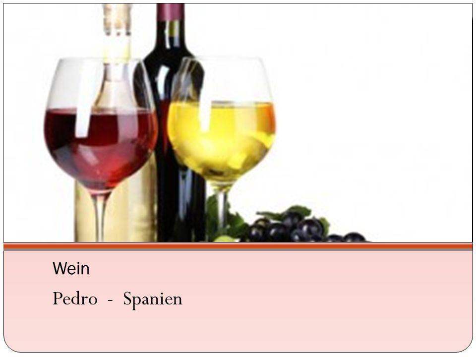 Wein Pedro - Spanien