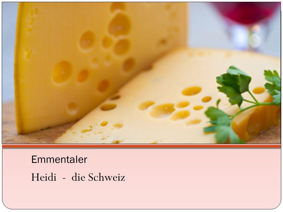 Emmentaler Heidi - die Schweiz