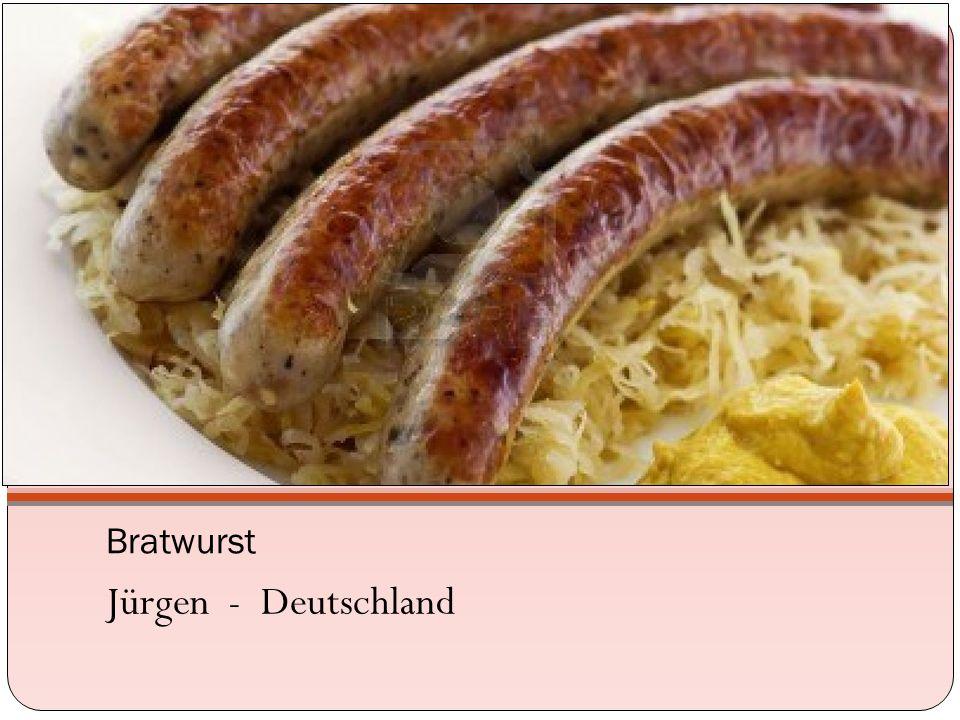 Bratwurst Jürgen - Deutschland