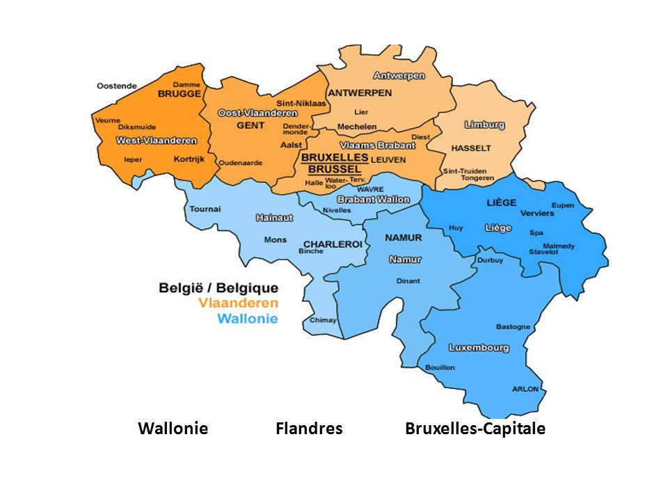 Wallonie FlandresBruxelles-Capitale