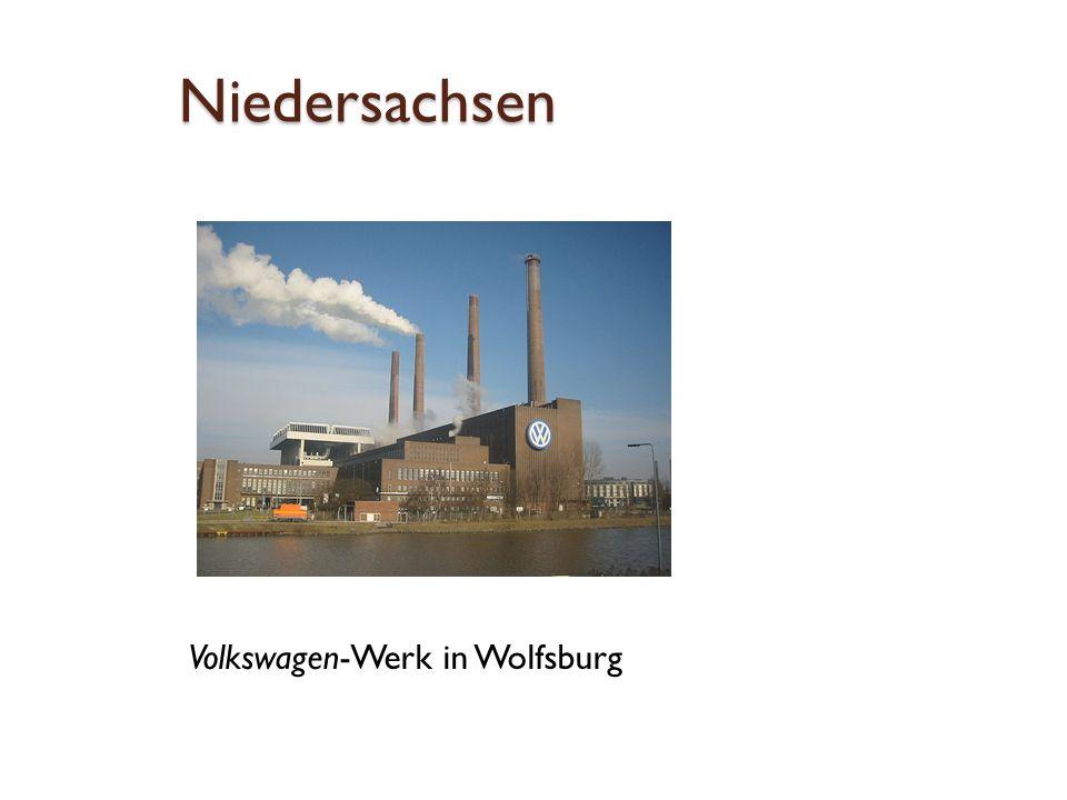 Niedersachsen Volkswagen-Werk in Wolfsburg