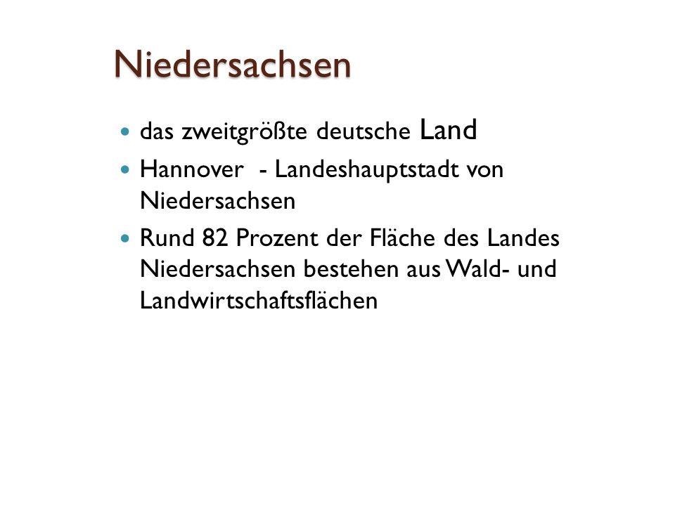 Niedersachsen Städte Hannover Braunschweig Wolfsburg Osnabrück Göttingen