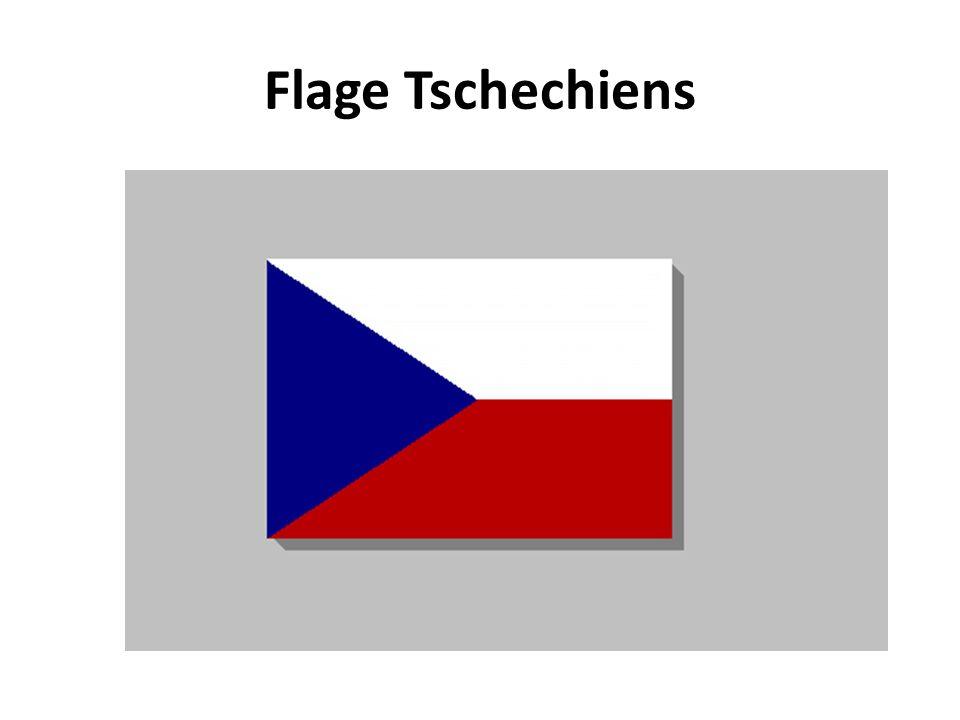 Flage Tschechiens