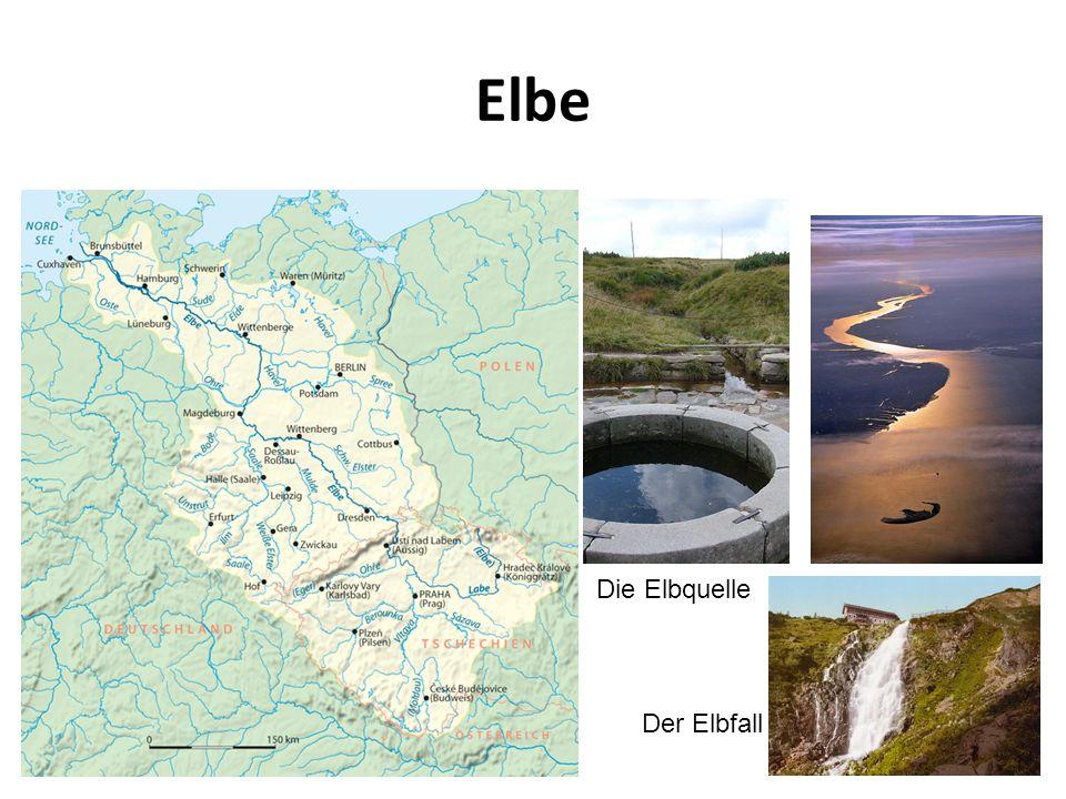Die Elbquelle Der Elbfall Elbe