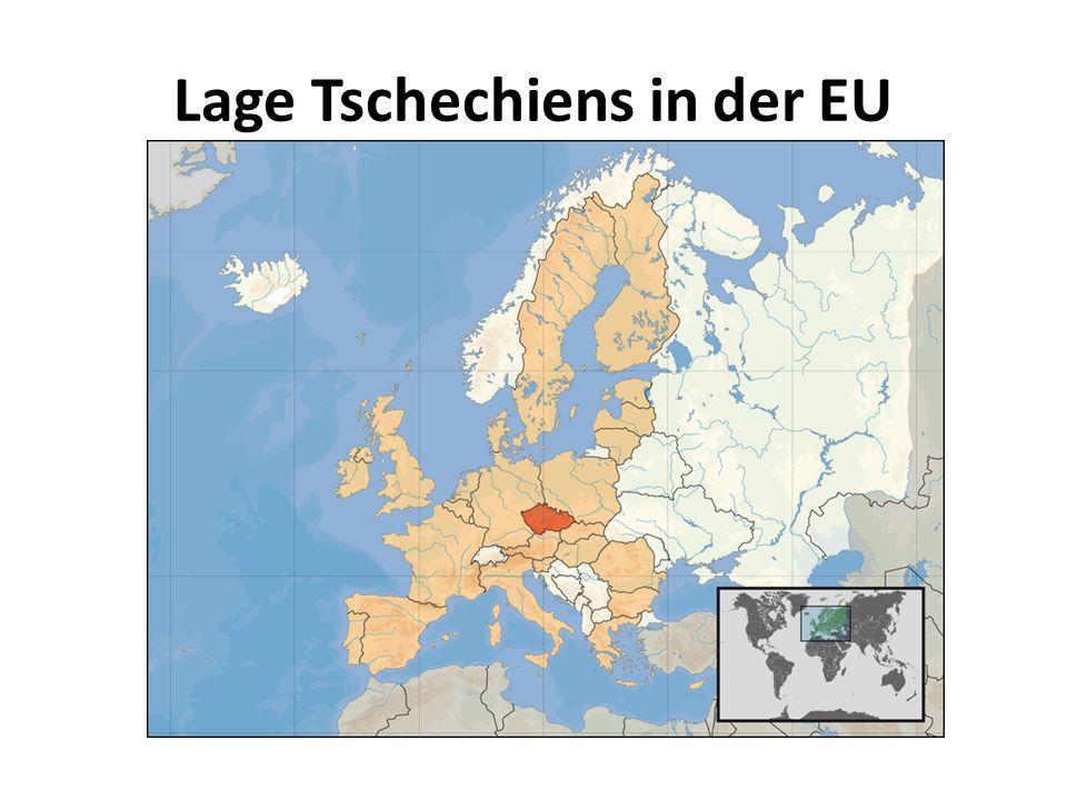 Lage Tschechiens in der EU