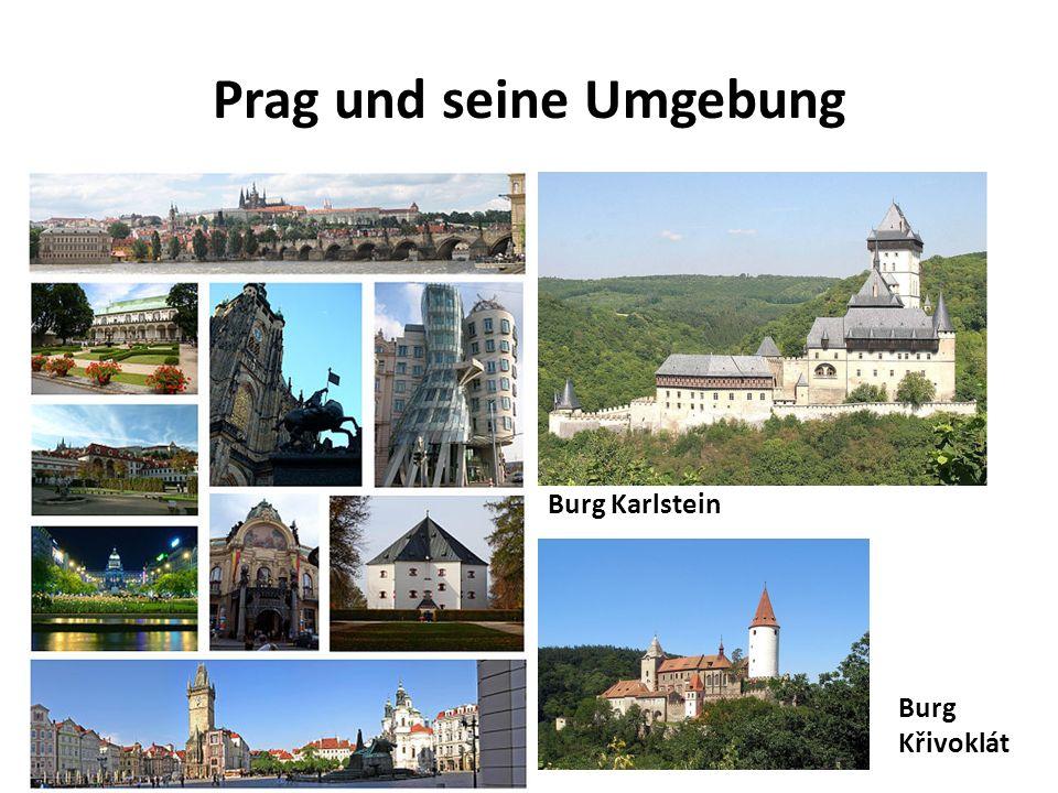 Burg Karlstein Burg Křivoklát Prag und seine Umgebung