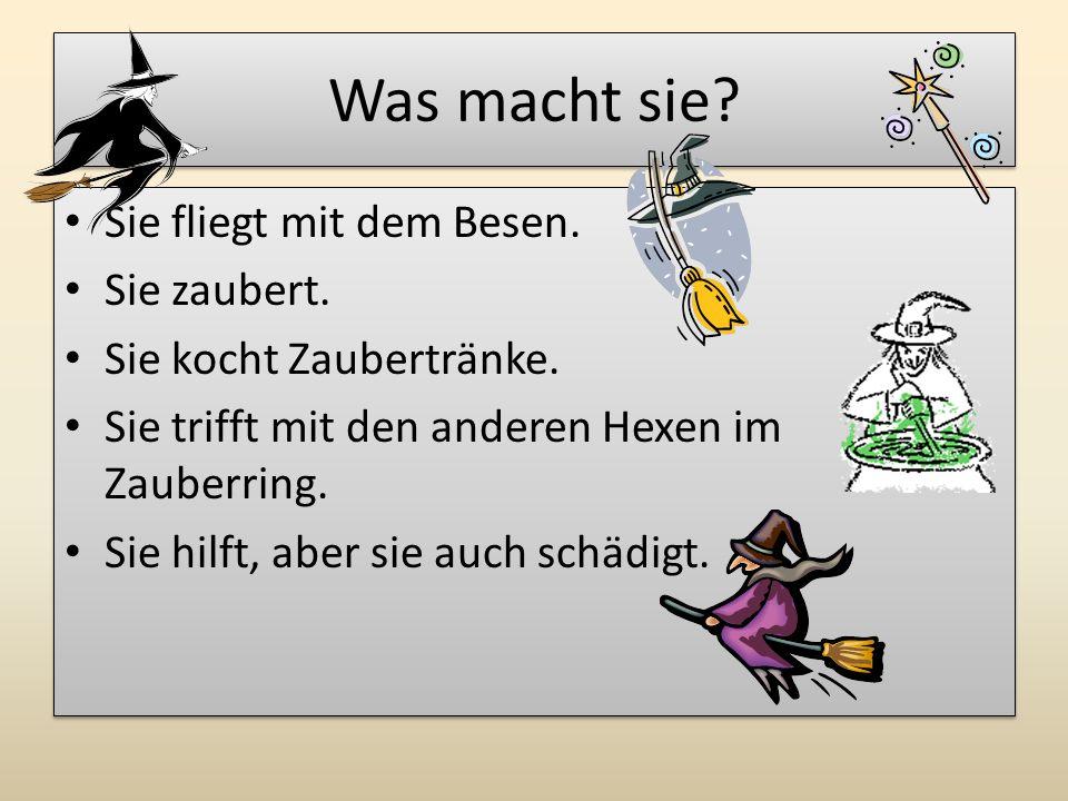 """Die bekanntesten Hexen Hexe """"Baba Jaga aus Märchen: Mrazík Hexe aus Märchen: Perníková chaloupka ( Hänsel und Gretel )"""