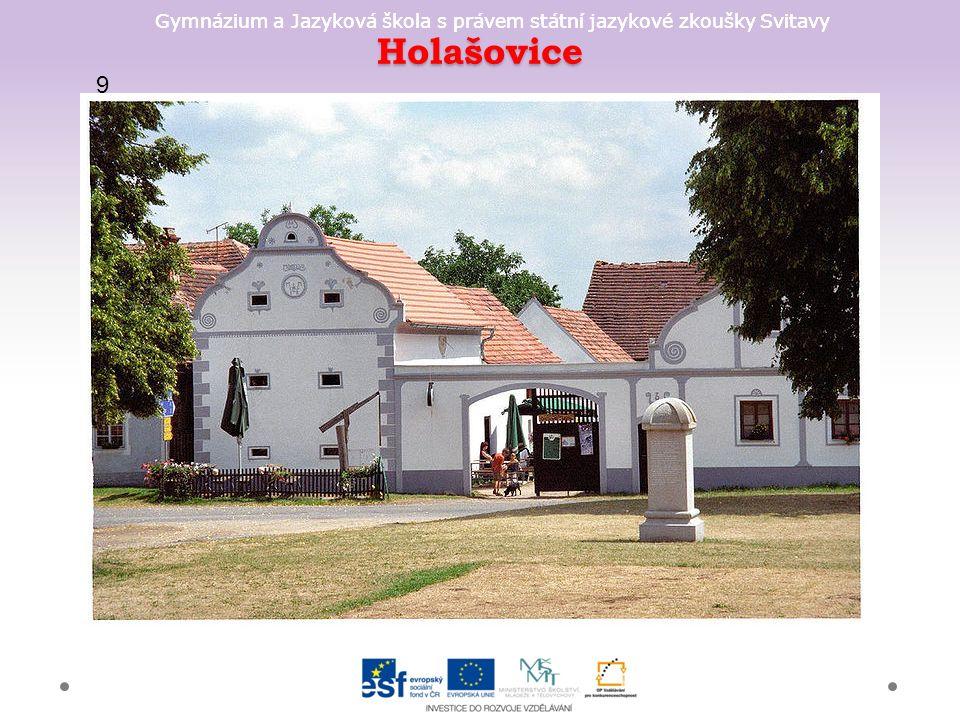 Gymnázium a Jazyková škola s právem státní jazykové zkoušky Svitavy Holašovice 9