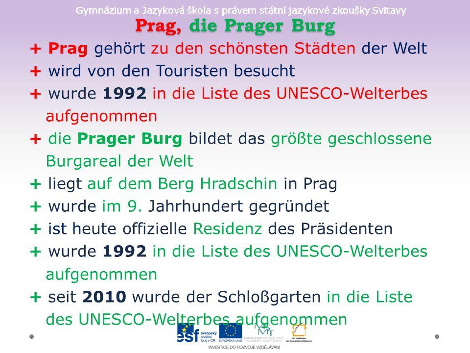 Gymnázium a Jazyková škola s právem státní jazykové zkoušky Svitavy 6 6 Kirche Mariä Himmelfahrt