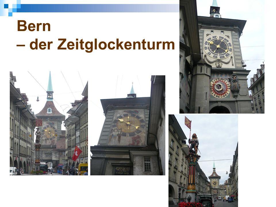 Bern – der Zeitglockenturm