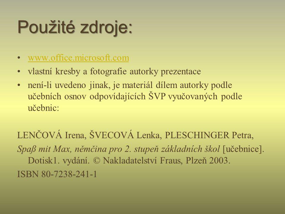 Název školy: ZŠ Klášterec nad Ohří, Krátká 676 Autor: Mgr. Soňa Strnadová Název materiálu: VY_32_INOVACE_7_ 34_Německý jazyk_předložky_I. Číslo projek