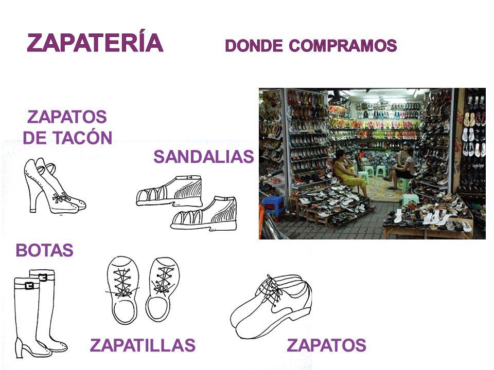ZAPATOS DE TACÓN SANDALIAS BOTAS ZAPATILLASZAPATOS