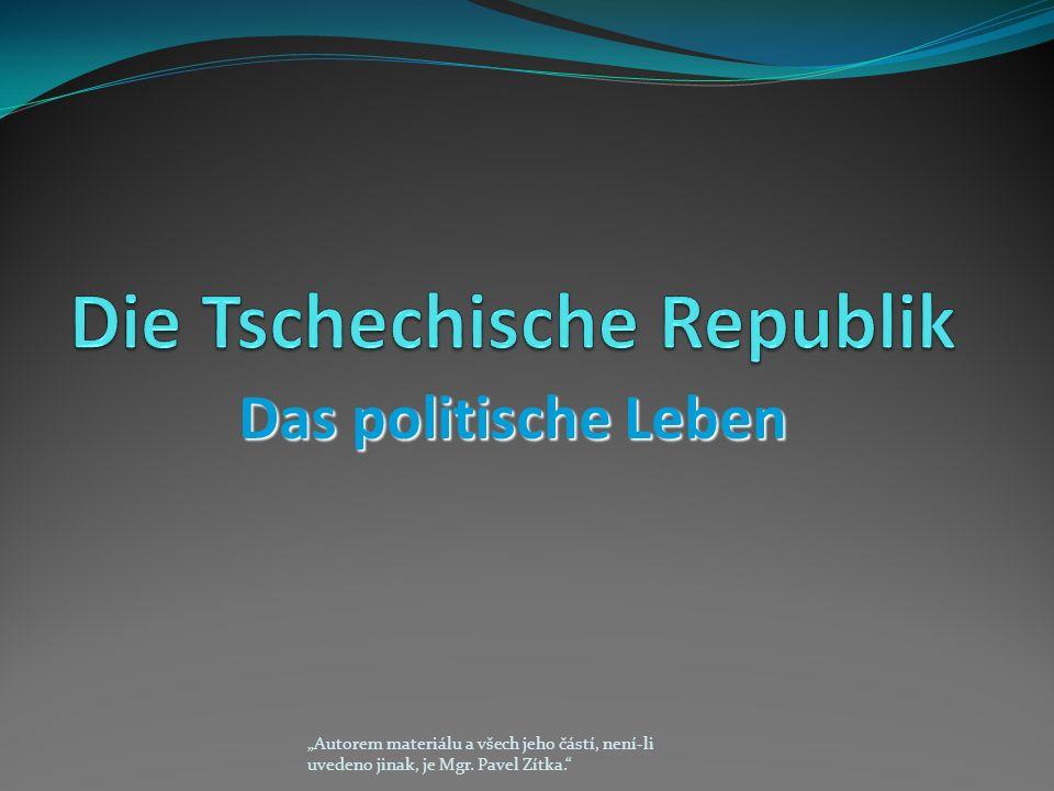 """Das politische Leben """"Autorem materiálu a všech jeho částí, není-li uvedeno jinak, je Mgr."""