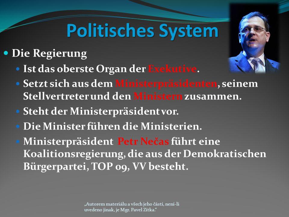 Politisches System Die Regierung Ist das oberste Organ der Exekutive.