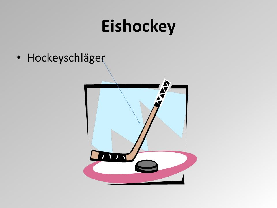 Hockeyschläger Eishockey
