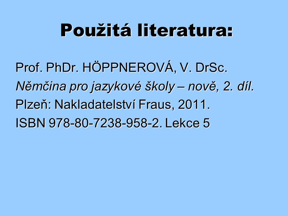 Minulý čas silných sloves (4) – řešení: a) a)Mein Bruder ist nach Hause gefahren. b) b)Jana hat die Party vorgeschlagen. c) c)Petr hat sich gut unterh