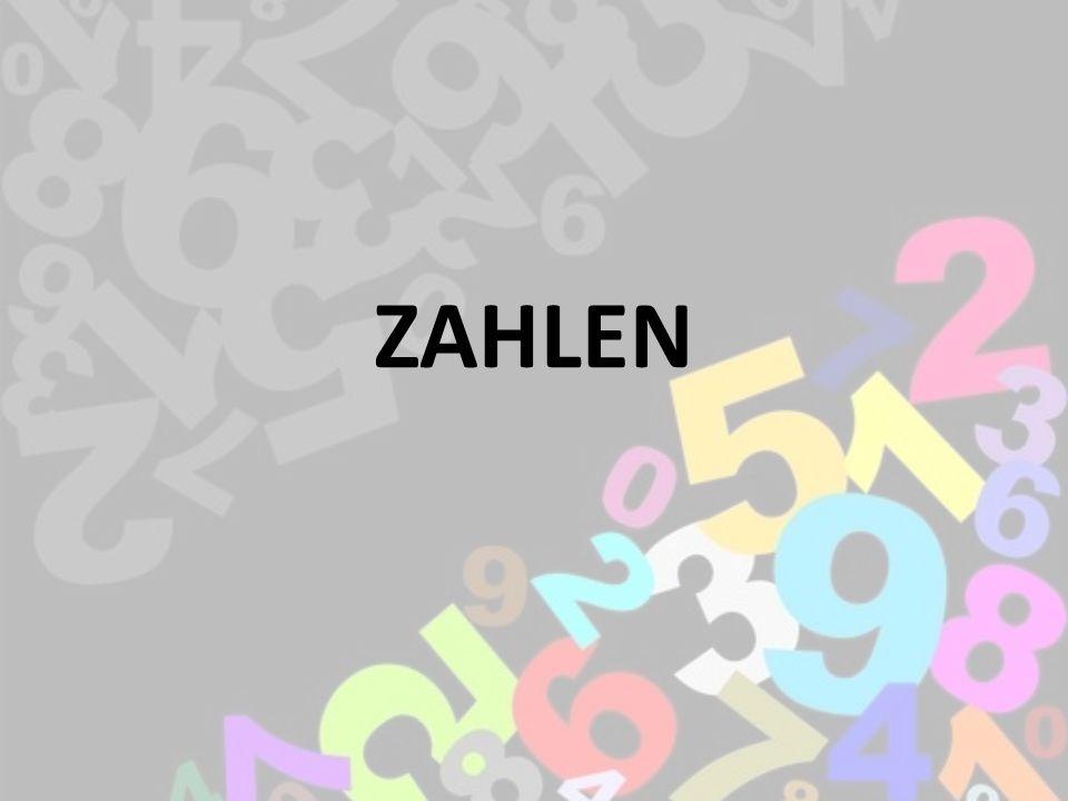 ZAHLEN