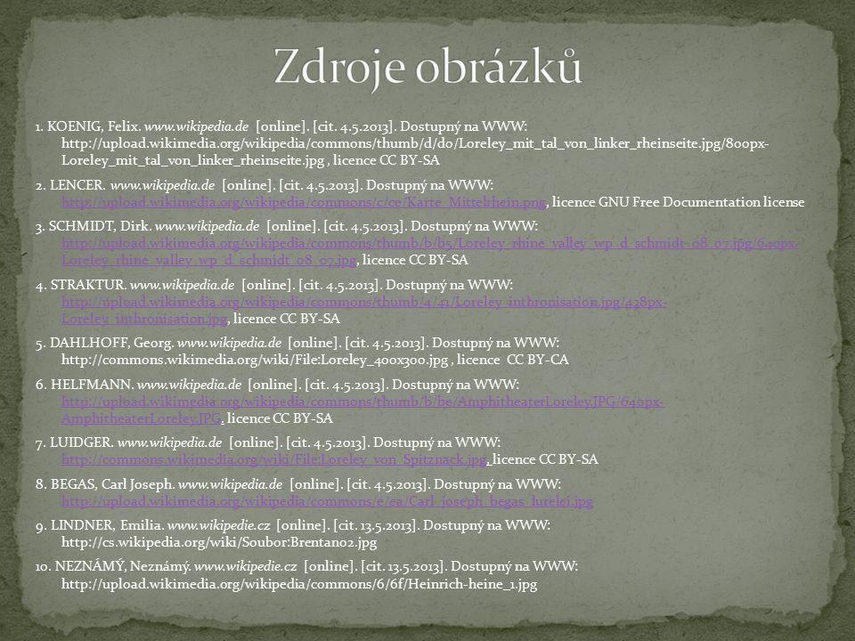 1.KOENIG, Felix. www.wikipedia.de [online]. [cit.