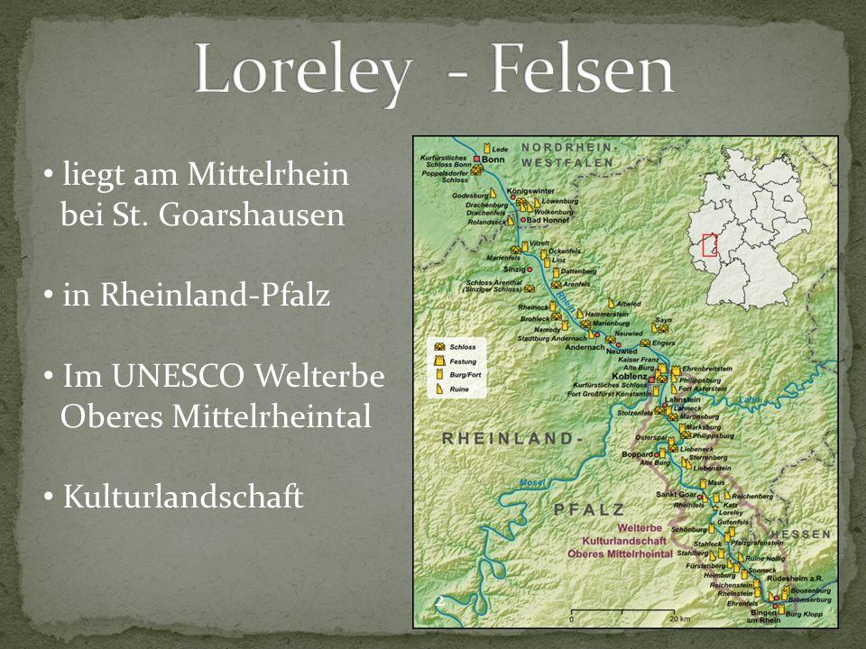 liegt am Mittelrhein bei St.