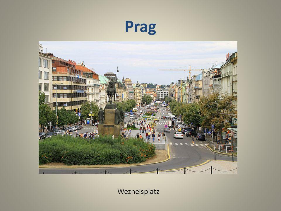 Prag Weznelsplatz