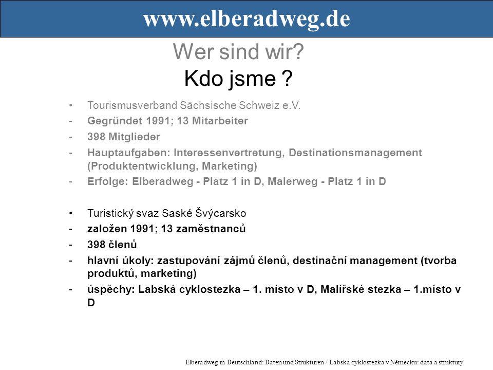 Wer sind wir. Kdo jsme . Tourismusverband Sächsische Schweiz e.V.