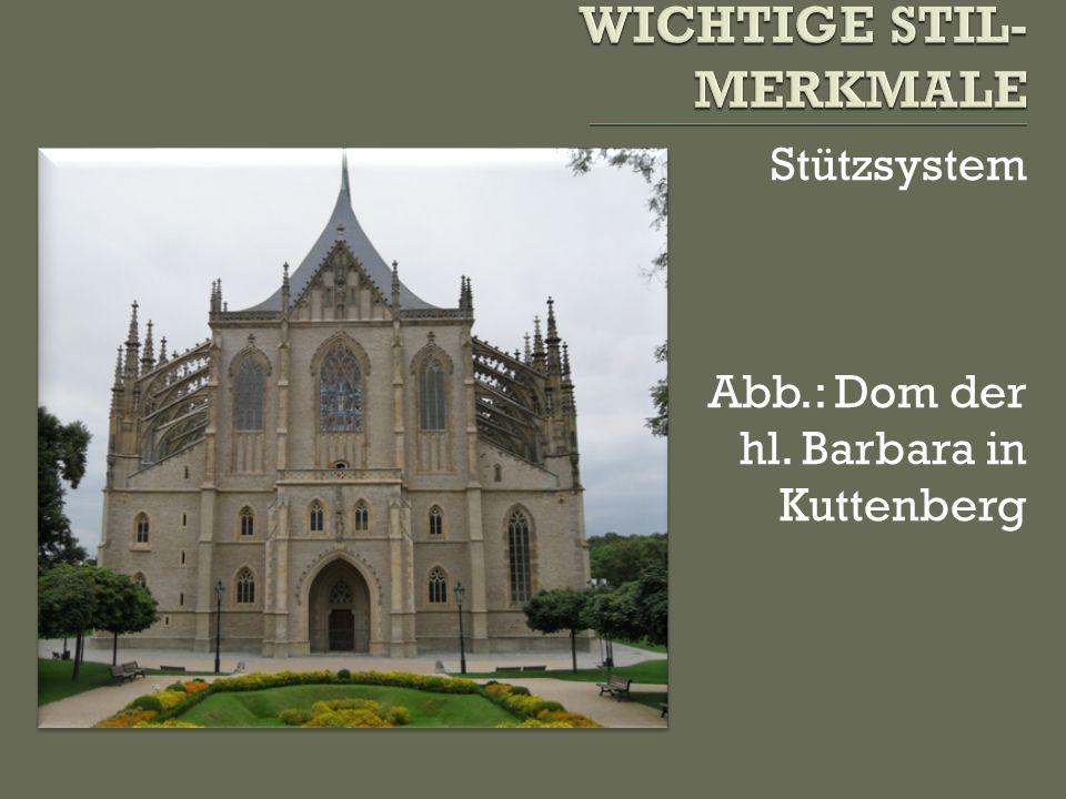Kreuzgewölbe Abb.: Wladislav-Saal, alter Königspalast auf der Prager Burg