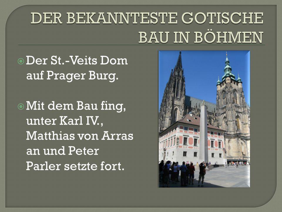 Stützsystem Abb.: Dom der hl. Barbara in Kuttenberg