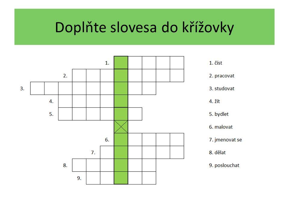 Řešení křížovky CH = 2 Buchstaben